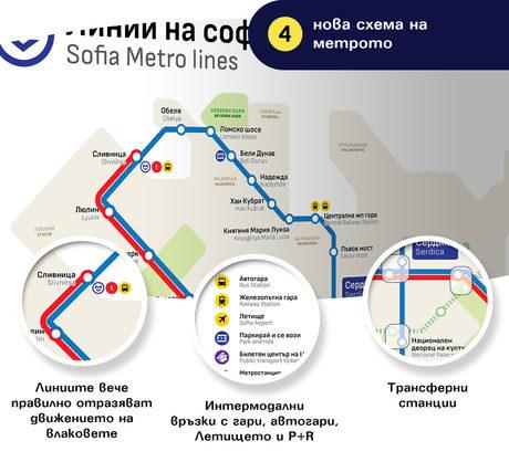 """""""Спаси София"""" представи новите информационни карти в метрото"""