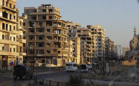 Кадри от Хомс, август 2018 г.