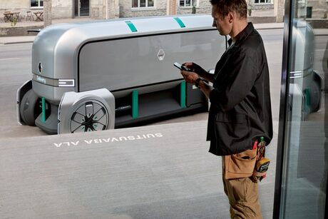 """Фотогалерия: Виждането на """"Рено"""" за куриерския автомобил на бъдещето"""