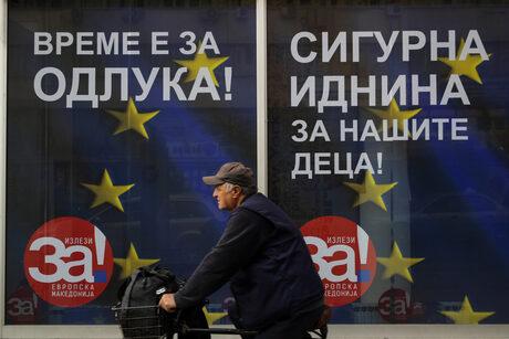 Македония избира между бойкота, апатията и пътя към ЕС и НАТО на референдума днес