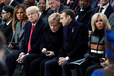 """Тръмп в Париж: """"Америка на първо място"""" означаваше """"Америка сама"""""""