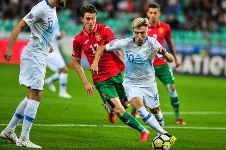 Божидар Краев вкара и двата гола в първата среща между отборите.