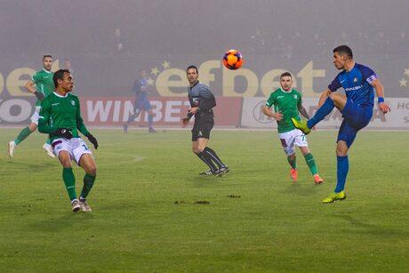 """""""Левски"""" загуби три пъти в последните си шест мача и ще зимува на 10 точки от първото място."""