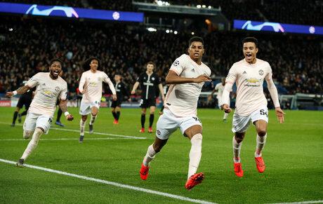 """Обезкървеният """"Юнайтед"""" постигна чудото на """"Парк де пренс"""" с дузпа в 94-aта минута"""