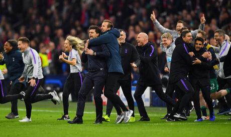 """""""Тотнъм"""" сътвори история и осигури английски финал след нова паметна вечер в Шампионската лига"""