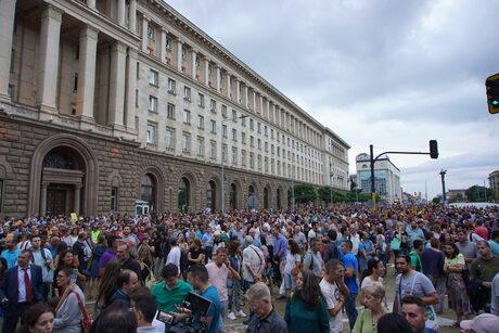 Няколко хиляди поискаха оттеглянето на Гешев и издигането на Бойко Атанасов за главен прокурор