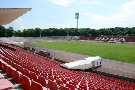 """Стадион """"Българска армия"""" е построен през 1967 г."""
