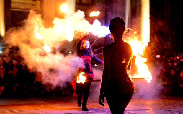 Фотогалерия: Часът на Земята в София