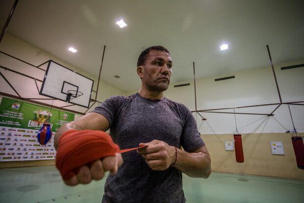 Фотогалерия: Кубрат Пулев и подготовката му за големия мач