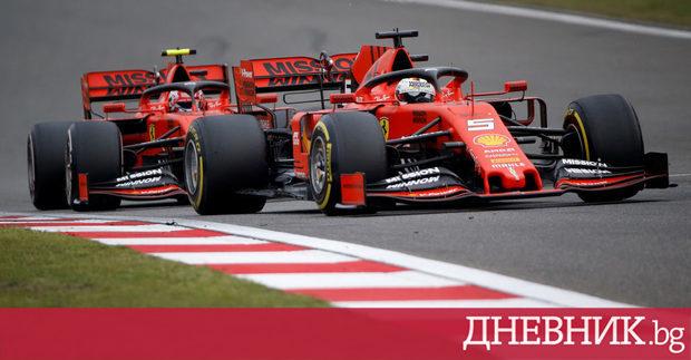 """Снимка: """"Ферари"""" рискува проблеми в отбора със заповедите от бокса, смята шефът на """"Мерцедес"""""""