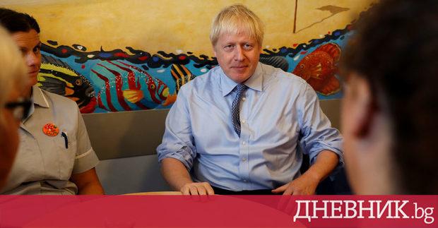Британският министър-председател Борис Джонсън призова вчера Германия и Франция да