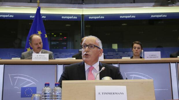 Франс Тимерманс обеща прагматичен подход от новата еврокомисия