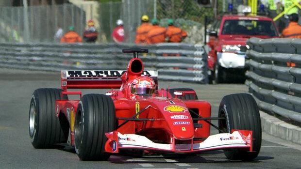 Легендарният болид на Шумахер F2001 ще бъде продаден на търг в Ню Йорк