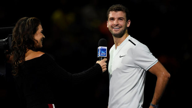"""""""Питай го защо избра тениса пред това да бъде модел"""", или как колега скрои номер на Григор Димитров"""