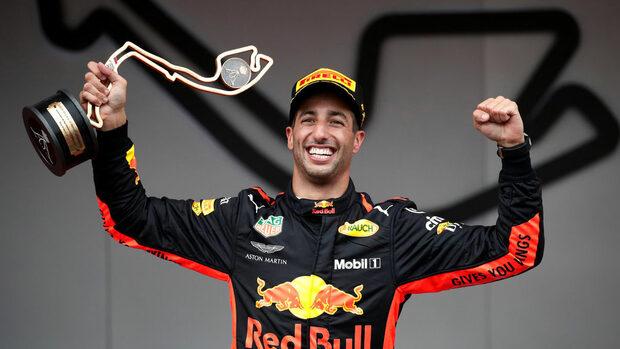 С проблем в двигателя Рикардо спечели безупречна победа в Монако