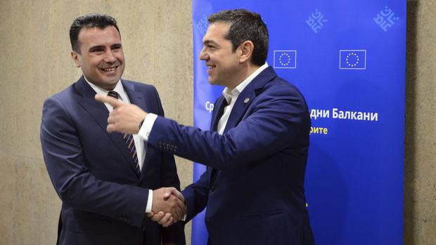Заев и Ципрас се срещат днес заради историческия договор за името на Македония