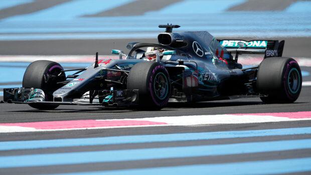 Хамилтън ще стартира пръв в Гран при на Франция