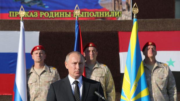 Над 1100 руски военни са напуснали Сирия за дни, обяви Путин