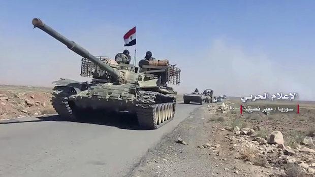 След руска операция бунтовниците предадоха на Асад града, от който започна войната в Сирия