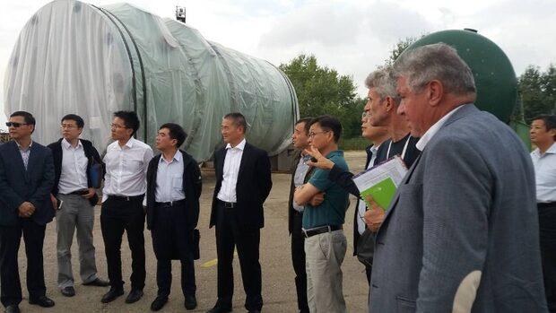 """Китайска делегация провери как се съхранява оборудването за АЕЦ """"Белене"""""""