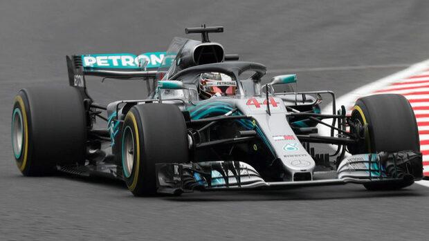 Хамилтън беше най-бърз в свободните тренировки преди Гран при на Япония