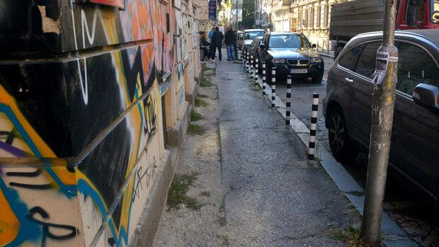 """Столичната община и живеещите на """"Иван Вазов"""" отново не се разбраха за проекта на улицата"""