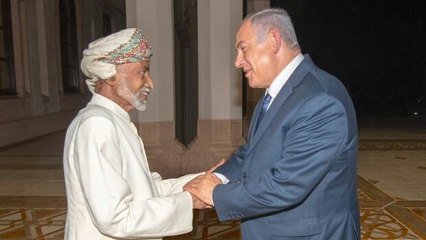 Оман позволи на Израел полети над своя територия