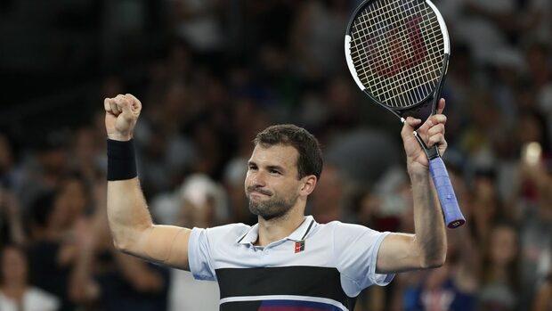 Григор Димитров ще играе с 39-ия в света за място в четвъртфиналите