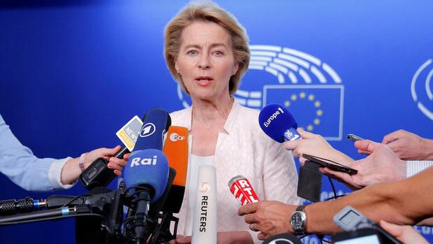 С обещания за правовия ред и климата Фон дер Лайен опита да спечели евродепутатите