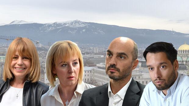 Без коли в центъра и забрана на въглищата предлагат кандидатите за кмет на София