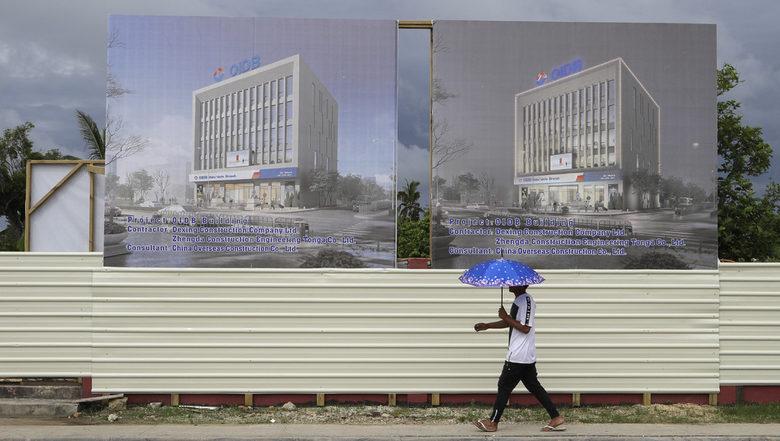 Проект на китайска инвестиционна банка в Нукуалофа.
