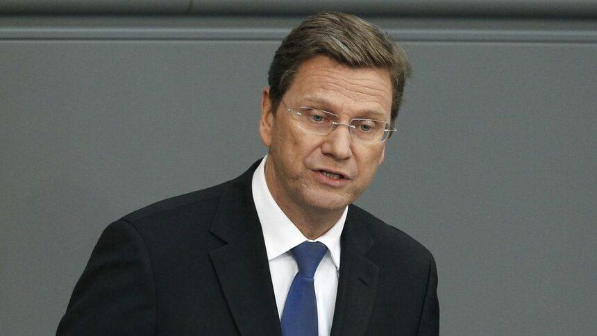 Външният министър на Германия Гидо Вестервеле